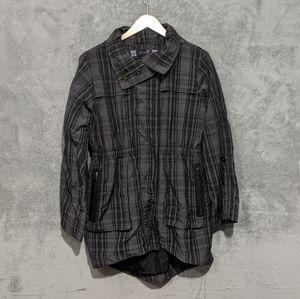🌻5/15$ Seven7 grey plaid jacket